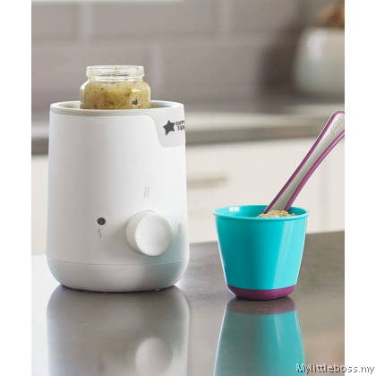 TOMMEE TIPPEE FOOD AND BOTTLE WARMER - THE CLASH